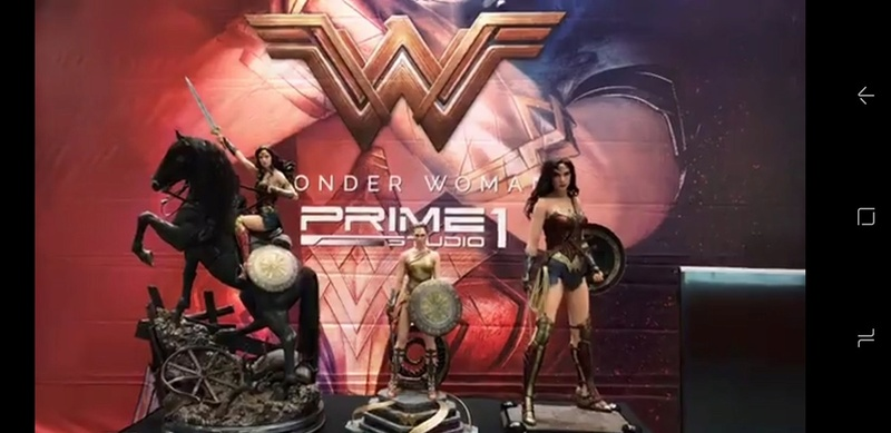 DC Comics - Wonder Woman Movie : Wonder Woman On Horseback 1/3 Scale Museum Masterline statue 0010
