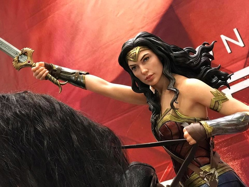 DC Comics - Wonder Woman Movie : Wonder Woman On Horseback 1/3 Scale Museum Masterline statue 510