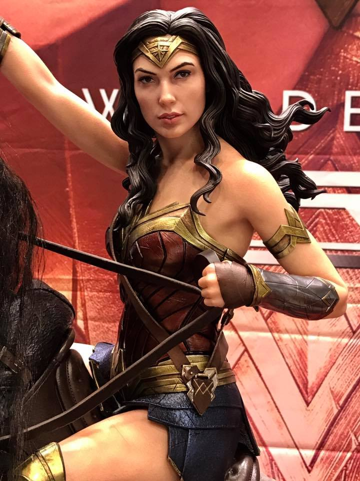 DC Comics - Wonder Woman Movie : Wonder Woman On Horseback 1/3 Scale Museum Masterline statue 610