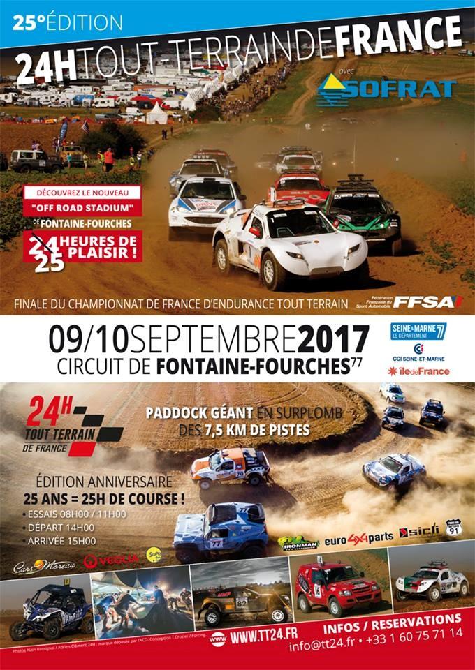 Affiche officielle des 25 Heures TT de FRANCE 2017 Affich11