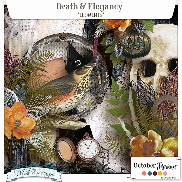 Death and Elegancy _ Flavour October _ N)°2 _in store 7 octobre Mldesi37