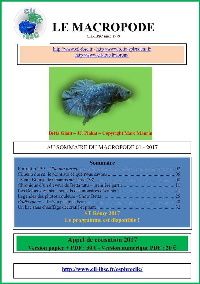 Sommaires revue du Macropode. - Page 2 2017-010