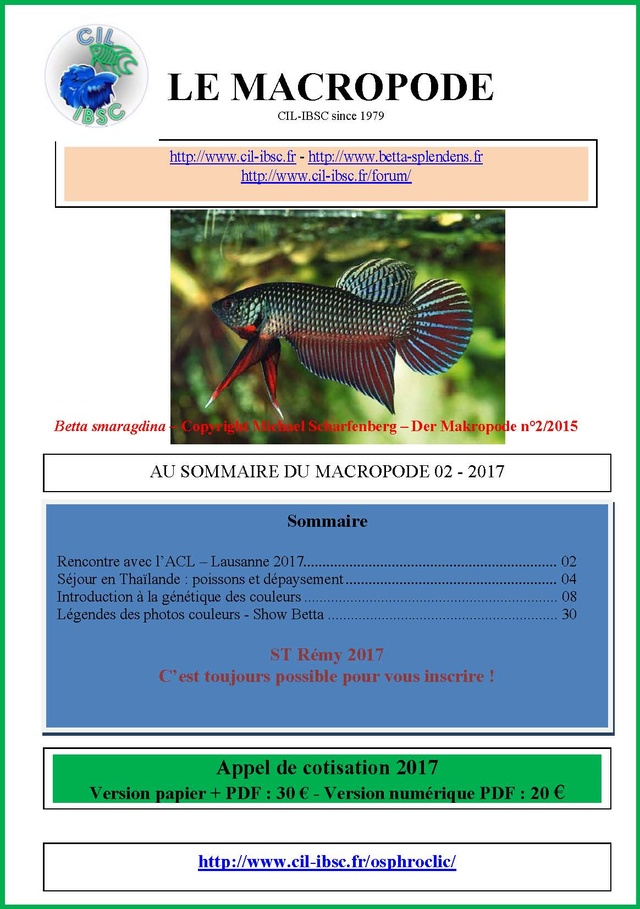 Sommaires revue du Macropode. - Page 2 2017-011