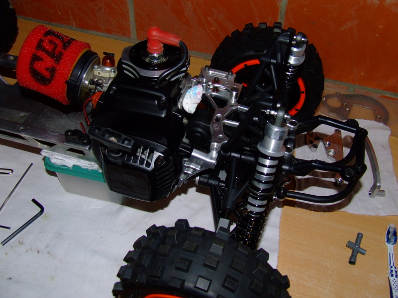 Remontage baja thermiflux  Dscf4111