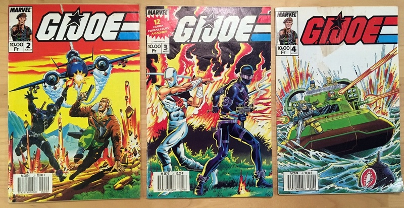 Comics Gi Joe vintage  en France et autres... Img_8111