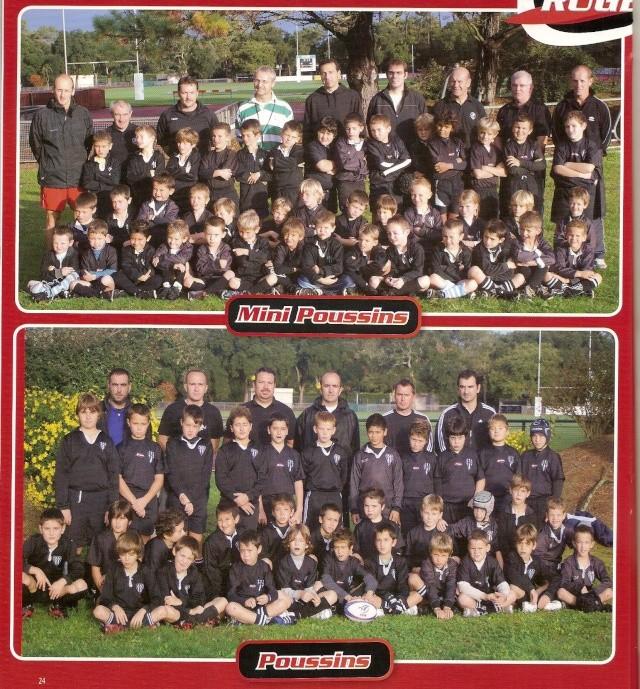 Photos Ecole De Rugby..... D'hier à aujourd'hui. 2010_a10