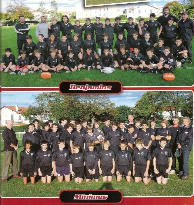 Photos Ecole De Rugby..... D'hier à aujourd'hui. 2010_b10
