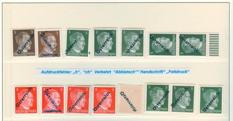Marke Deutsches Reich mit Österreich Stempel Scanne10