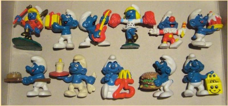Aperçu rapide des jouets macdo et autres fastfood B1011