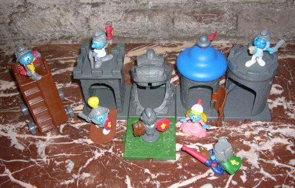 Aperçu rapide des jouets macdo et autres fastfood B1211