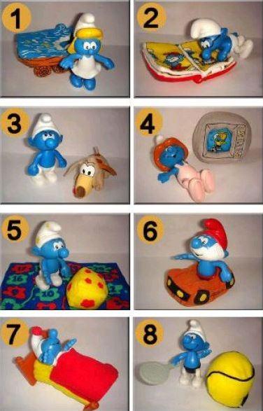 Aperçu rapide des jouets macdo et autres fastfood B2211