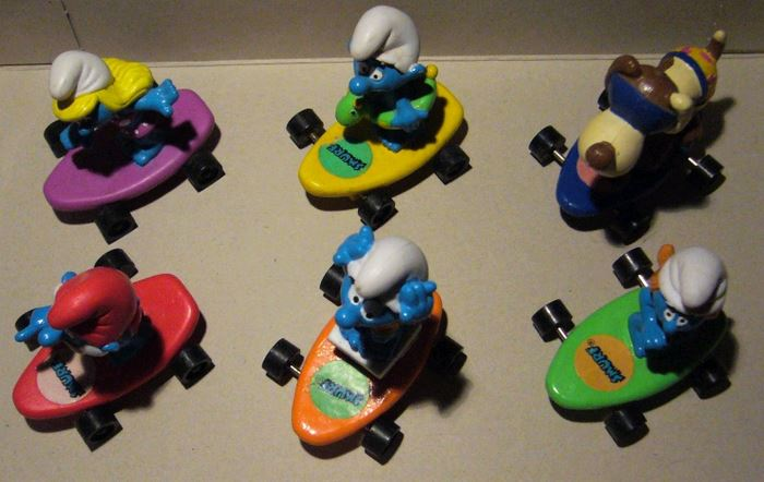 Aperçu rapide des jouets macdo et autres fastfood B2510