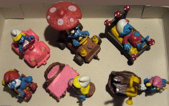 Aperçu rapide des jouets macdo et autres fastfood B2610