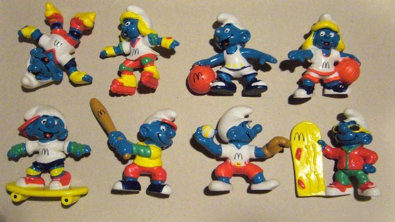 Aperçu rapide des jouets macdo et autres fastfood B911