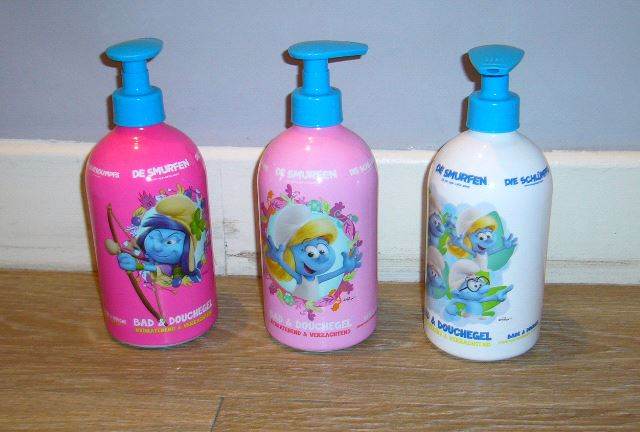 schtroumpfs - [topbrands europe] shampoing et savon schtroumpfs Shampo10