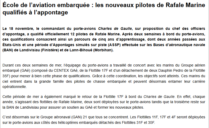 [ Porte-Avions Nucléaire ] Charles de Gaulle Tome 3 - Page 40 Capt1040