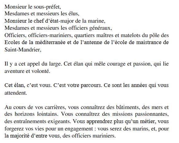 [ DIVERS - ÉCOLE DE MAISTRANCE] École de Maistrance à Saint-Mandrier Captu154