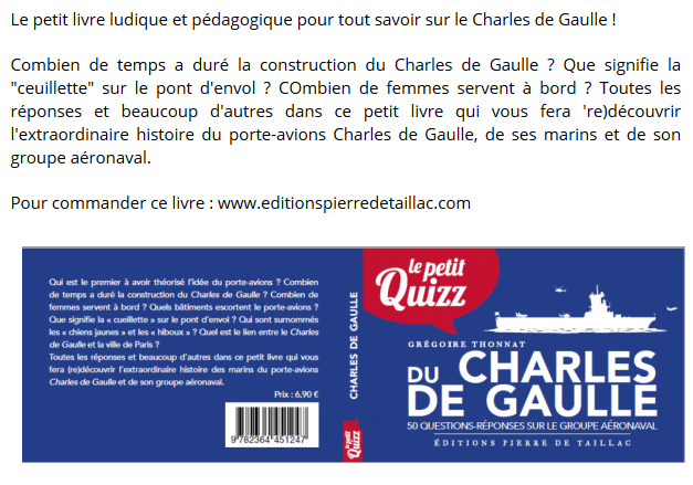 [ Porte-Avions Nucléaire ] Charles De Gaulle Tome 3 - Page 21 Captu240