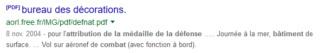 [LES TRADITIONS DANS LA MARINE] LE PORT DES DÉCORATIONS - Page 16 Captu404