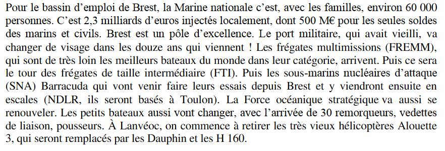 [Vie des ports] BREST Ports et rade - Volume 001 - Page 35 Captur38