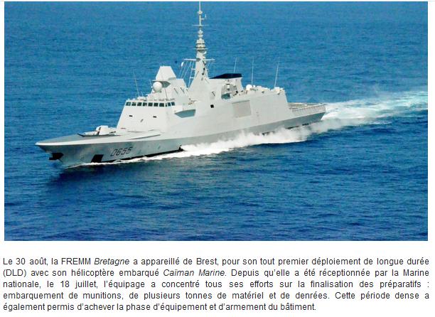 [ Divers frégates ] FREMM Bretagne  - Page 2 Captur91
