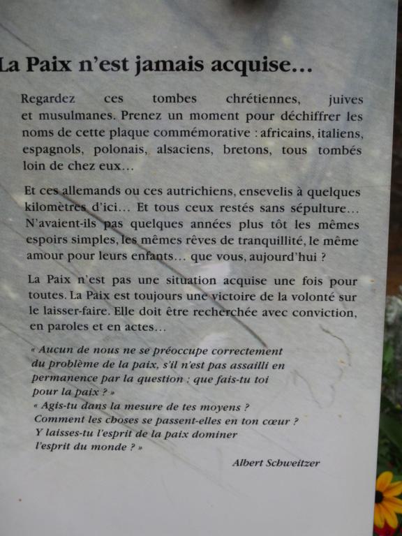 [ Histoires et histoire ] LES CIMETIÈRES MILITAIRES FRANCAIS - Page 3 Img_3616