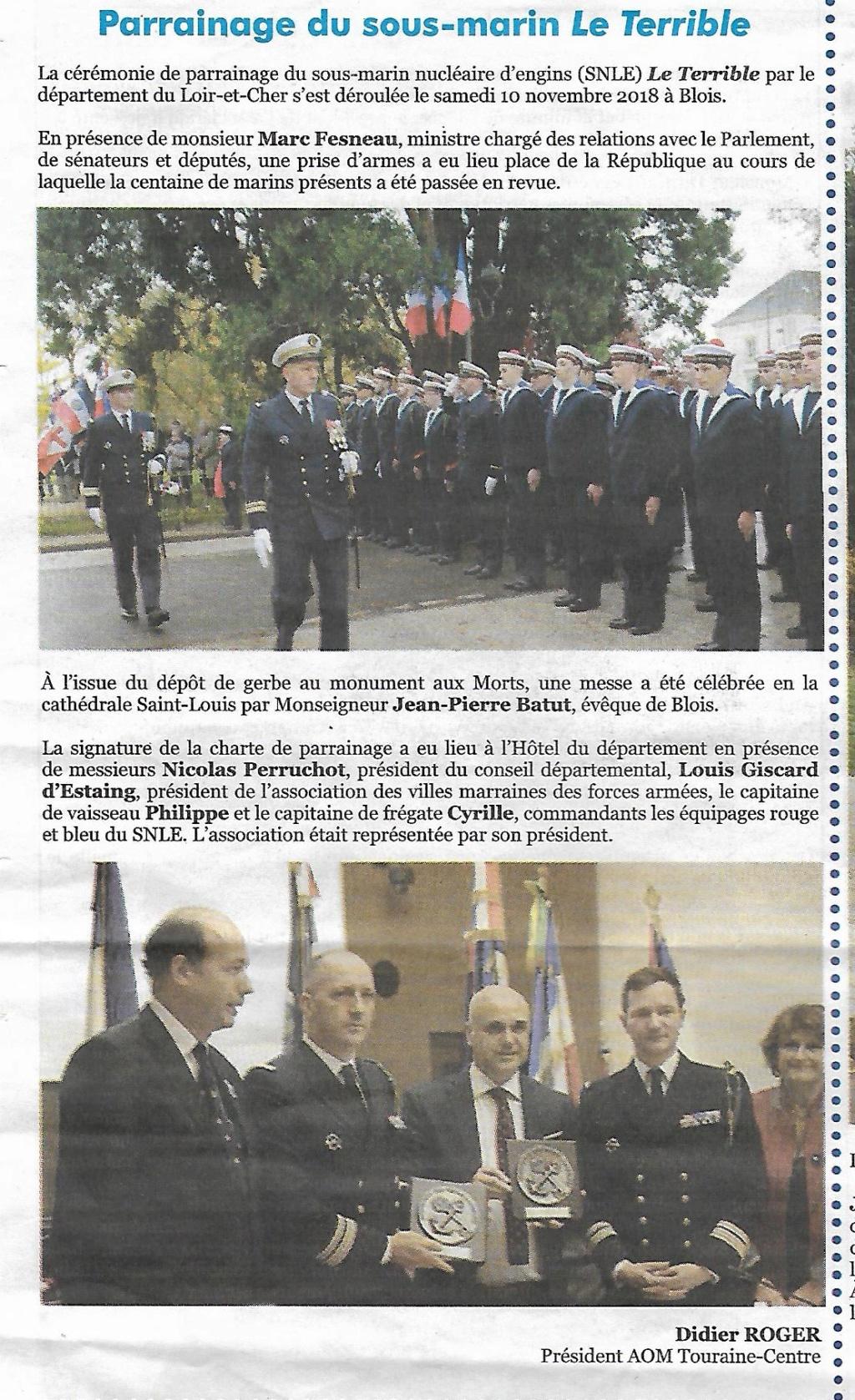 [Les traditions dans la Marine] Les Villes Marraines - Page 14 Scan39