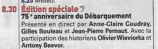 [ Histoires et histoire ] LE  DÉBARQUEMENT EN NORMANDIE - Page 2 Scan67
