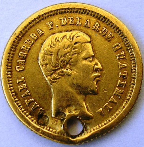 4 reales de Guatemala de 1860 Guatem10