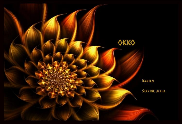 Forum de l'alliance OKKO sur le serveur Alpha d'Ikariam.