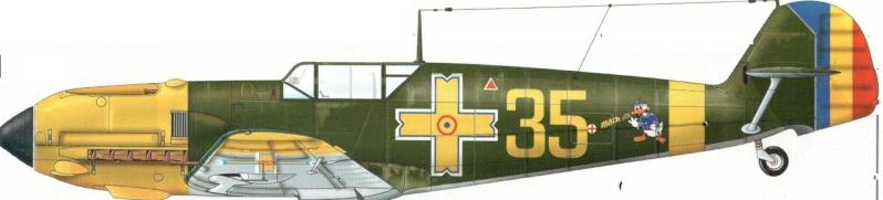 BF-109 E roumain Me_10910