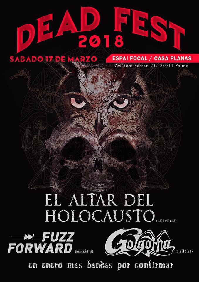 El Altar Del Holocausto † IT TOUR PART II † SOLD OUT en MOBY DICK, Madrid.  Entradas a la venta 21728210