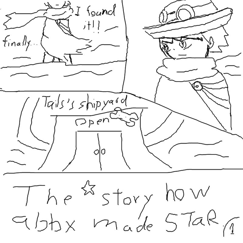 The story how Abbx Discover STaR [Comic Style!] Pg110