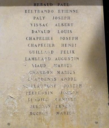 40 000 monuments pour 1 350 000 morts pendant la guerre de 14-18 [sujet collaboratif : on a besoin de vous !] - Page 3 Tavel210