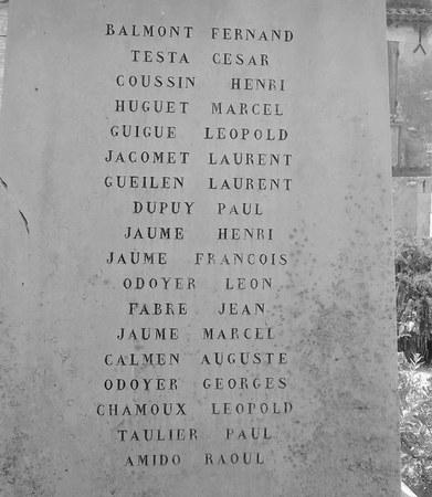 40 000 monuments pour 1 350 000 morts pendant la guerre de 14-18 [sujet collaboratif : on a besoin de vous !] - Page 3 Tavel310