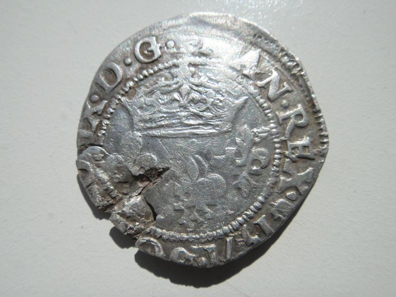 Double Sol Parisis pour CHARLES IX- 1571 - Atelier Aix en Provence . Dsc04245