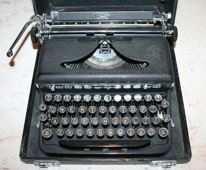 Les machines à ecrire U.S. WWII Machin12