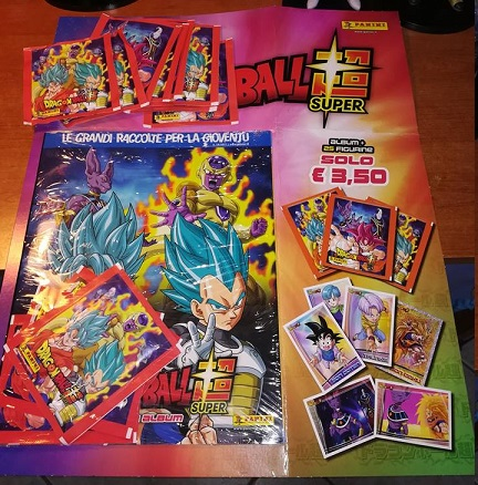 Intercambio Dragon Ball Super Cromos (Panini) Faltas/Repes 21766610