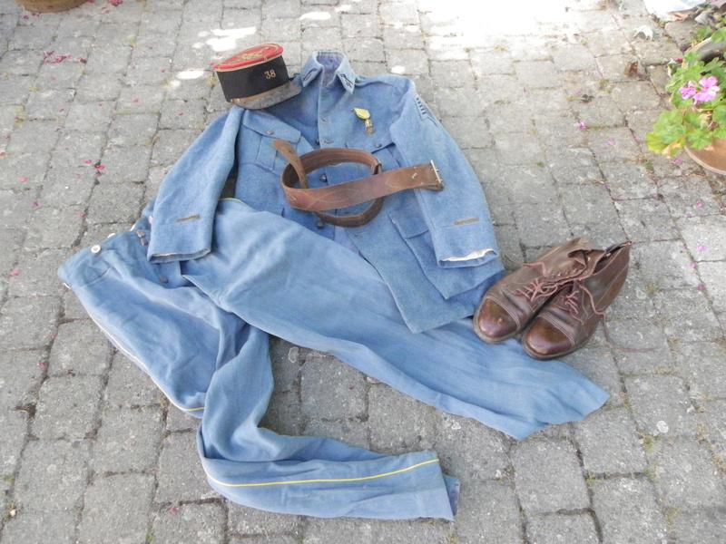 tenue d'adjudant du 38eme de St Etienne ALPINS-SEPTEMBRE1 -vendue-  Tenue_28