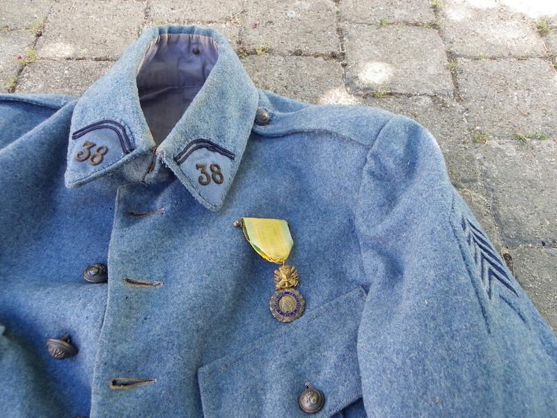 tenue d'adjudant du 38eme de St Etienne ALPINS-SEPTEMBRE1 -vendue-  Tenue_30