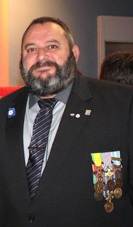 HOMMAGE à Martial COURBON , Ancien Combattant OPEX , Président de la section ACPG de BAGES (66) Martia15