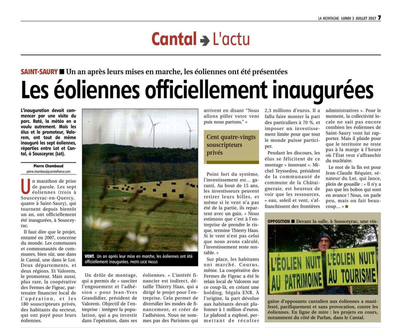"""Energies renouvelables : le Cantal attrape la """"fièvre verte"""" - Page 3 Eolien10"""