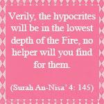 An-Nifaq (Hypocrisy)