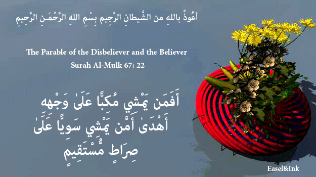 The Disbeliever and the Believer (Surah Al-Mulk 67:22) S67a2210
