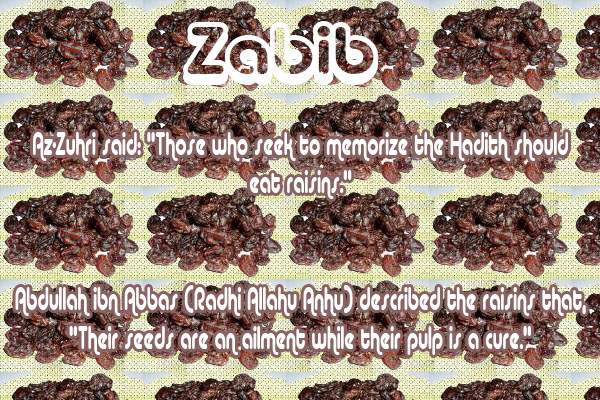 Healing with the Medicine of the Prophet (Sallallahu Alayhi wa Sallam) –Ibn Qayyim Zabib10