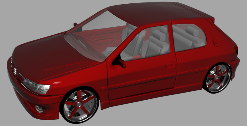 [WIP] Peugeot 306 - Page 2 306int10