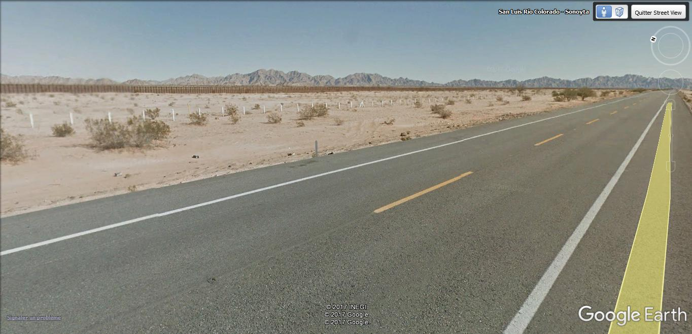 [Mexique] - Penetrame:  la frontière Mexique-USA en clichés SV. A27