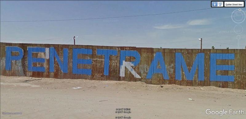[Mexique] - Penetrame:  la frontière Mexique-USA en clichés SV. A29