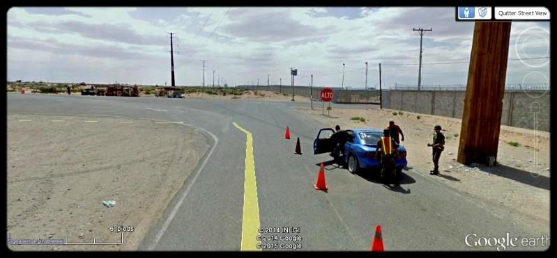 [Mexique] - Penetrame:  la frontière Mexique-USA en clichés SV. A35