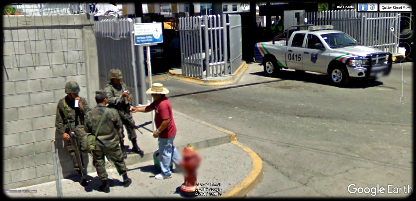 [Mexique] - Penetrame:  la frontière Mexique-USA en clichés SV. A37